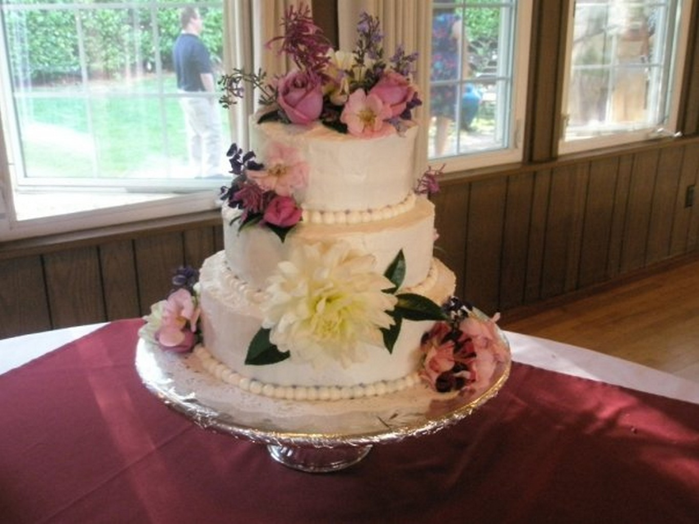 wedding cake finishes
