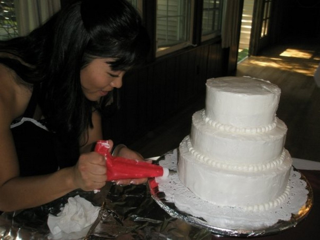 wedding cake person 1